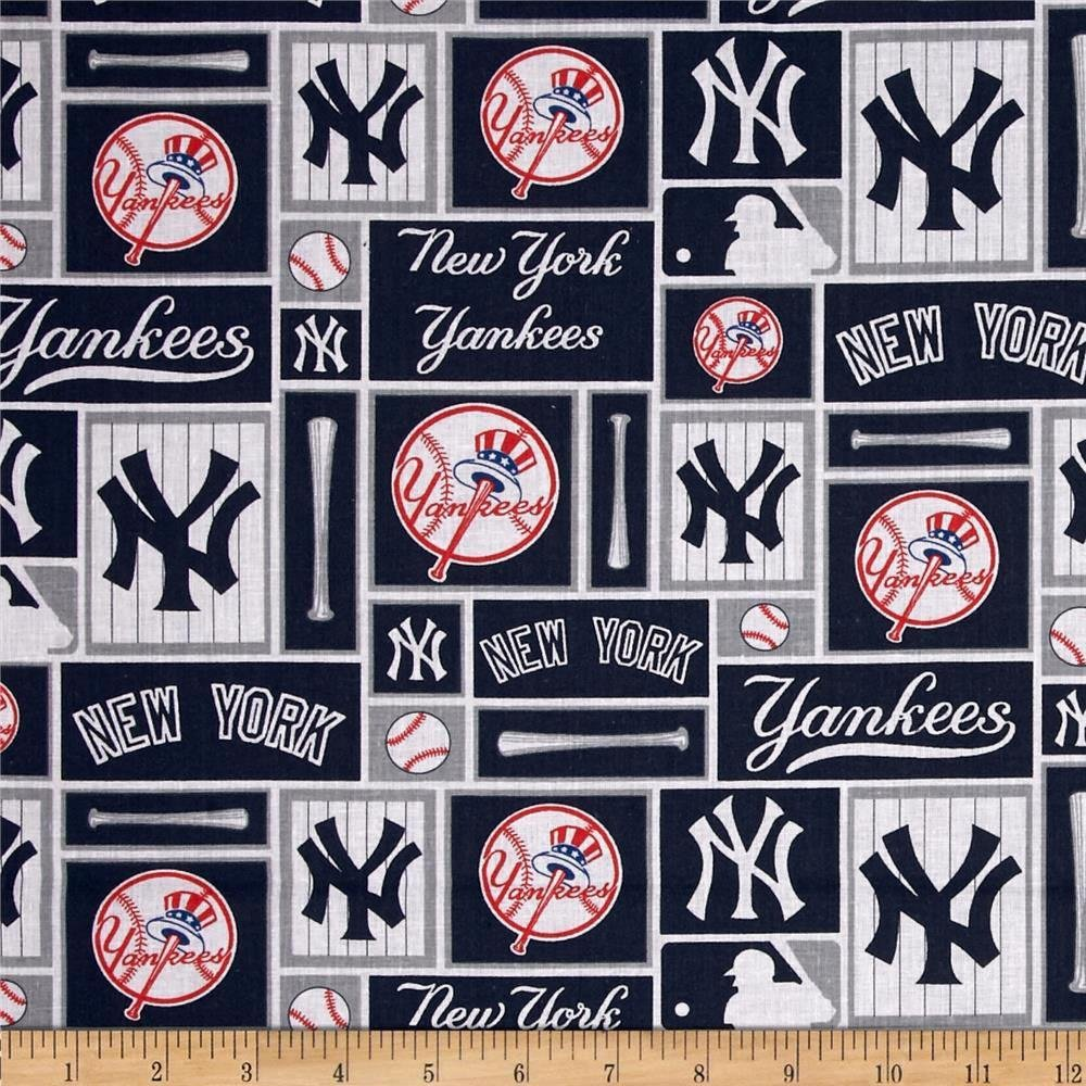 MLB Logo New York Yankees 6647B Block