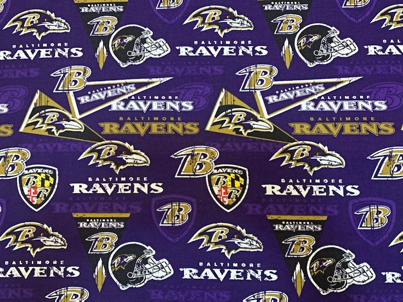 NFL Baltimore Ravens 70249 Purple 45
