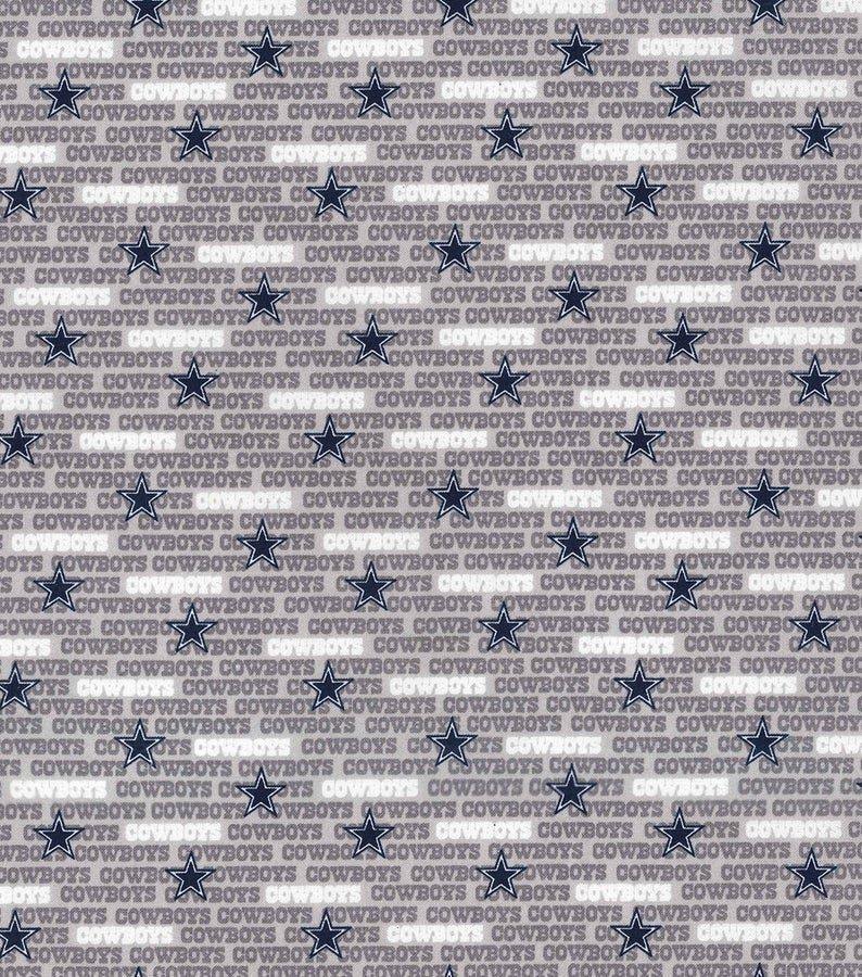 NFL Logo Dallas Cowboys 14676 Small Grey