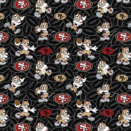 NFL SAN FRANCISCO 49ERS 70391 MICKEY MOUSE