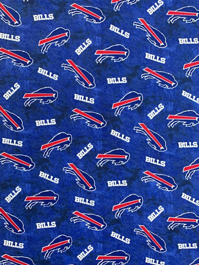NFL Logo Buffalo Bills 70118 FLANNEL 45