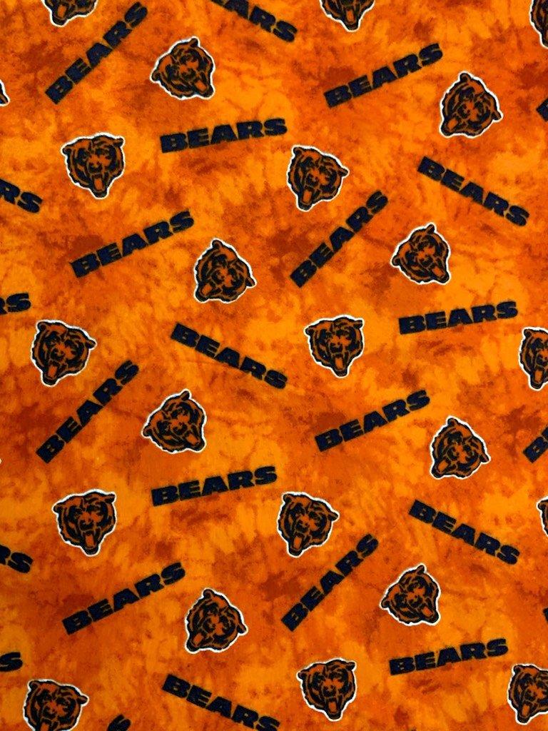 NFL Logo Chicago Bears 14929 FLANNEL 45