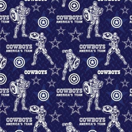 NFL Logo Dallas Cowboys 70399 Captain America