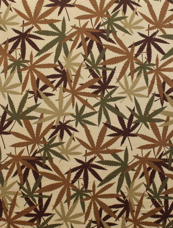 Herb 8308-D Tan Brown Green