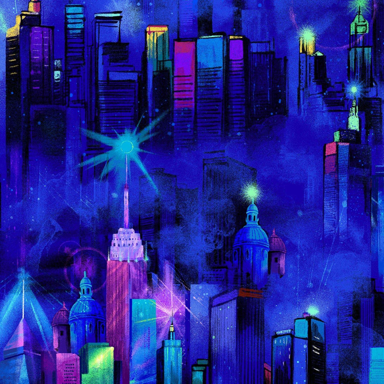 Night Skyline C7305