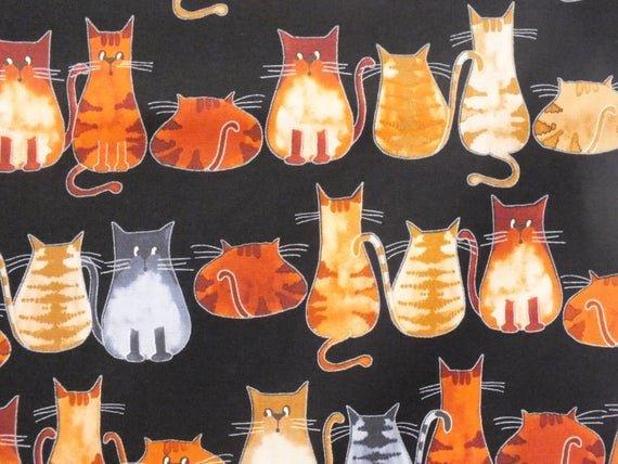 Novelty Cats C1337 Black