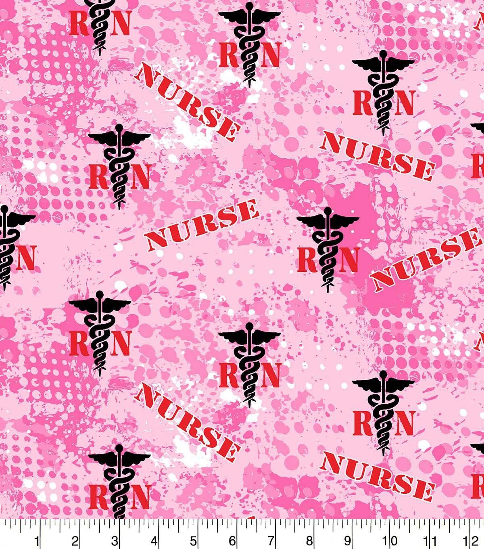 Nurse Logo 1180 Pink