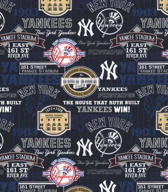MLB Logo New York Yankees 60252 Stadium 45