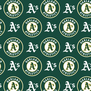 MLB Oakland Athletics 6648B Green