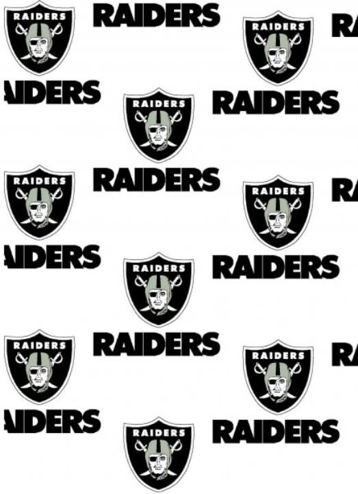 NFL Las Vegas Raiders 1029 White