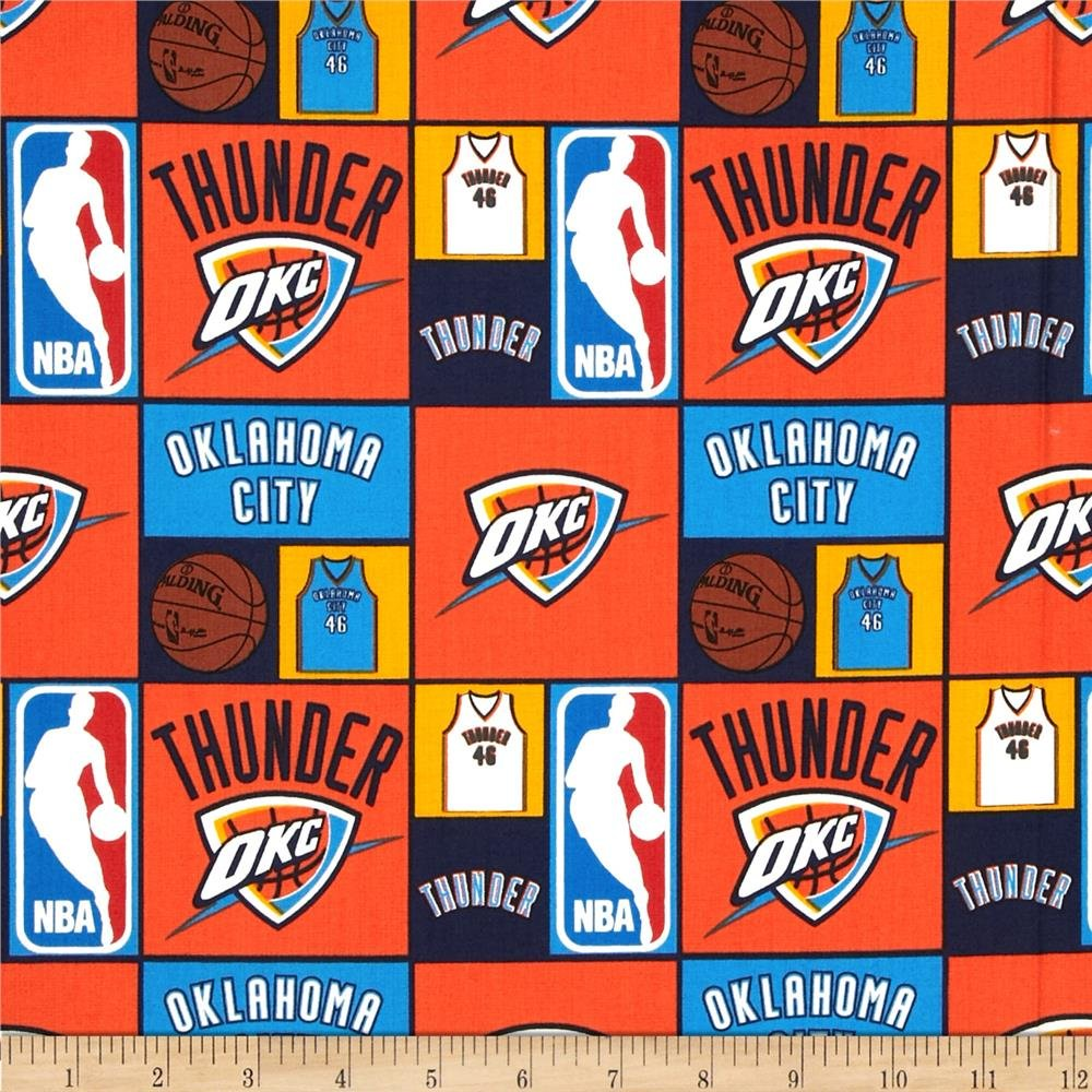 NBA Oklahoma City Thunder 083 Orange/Blue
