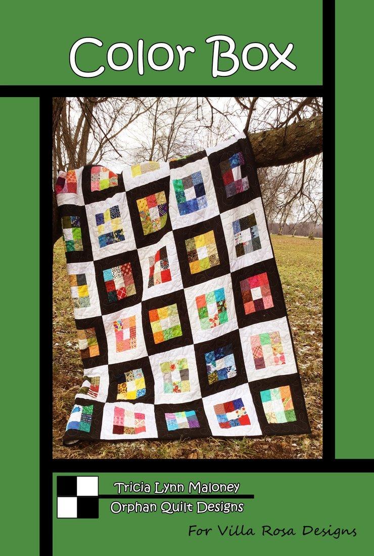 Color Box Quilt Pattern #3782