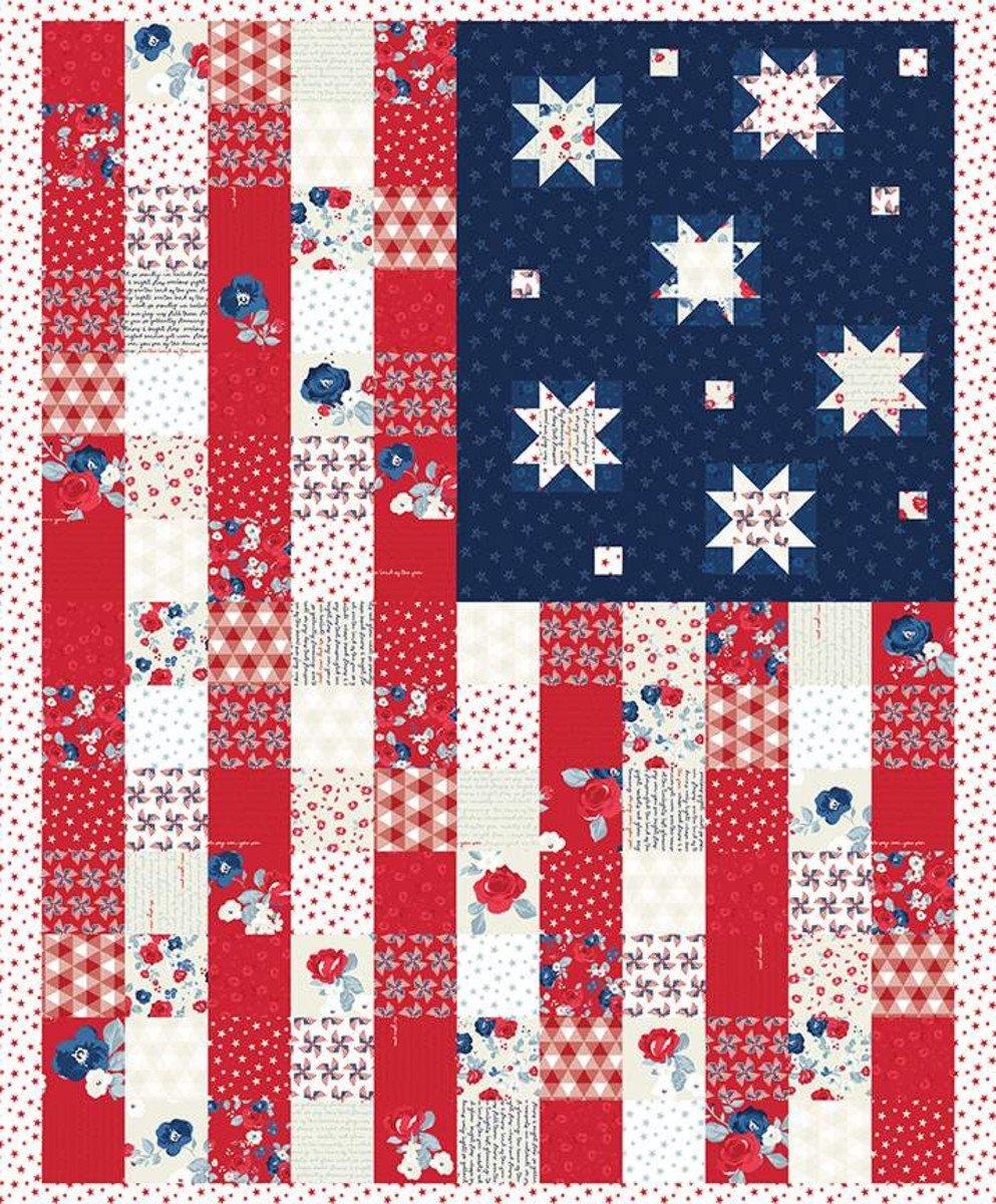 Land of Liberty P10567 Flag Panel