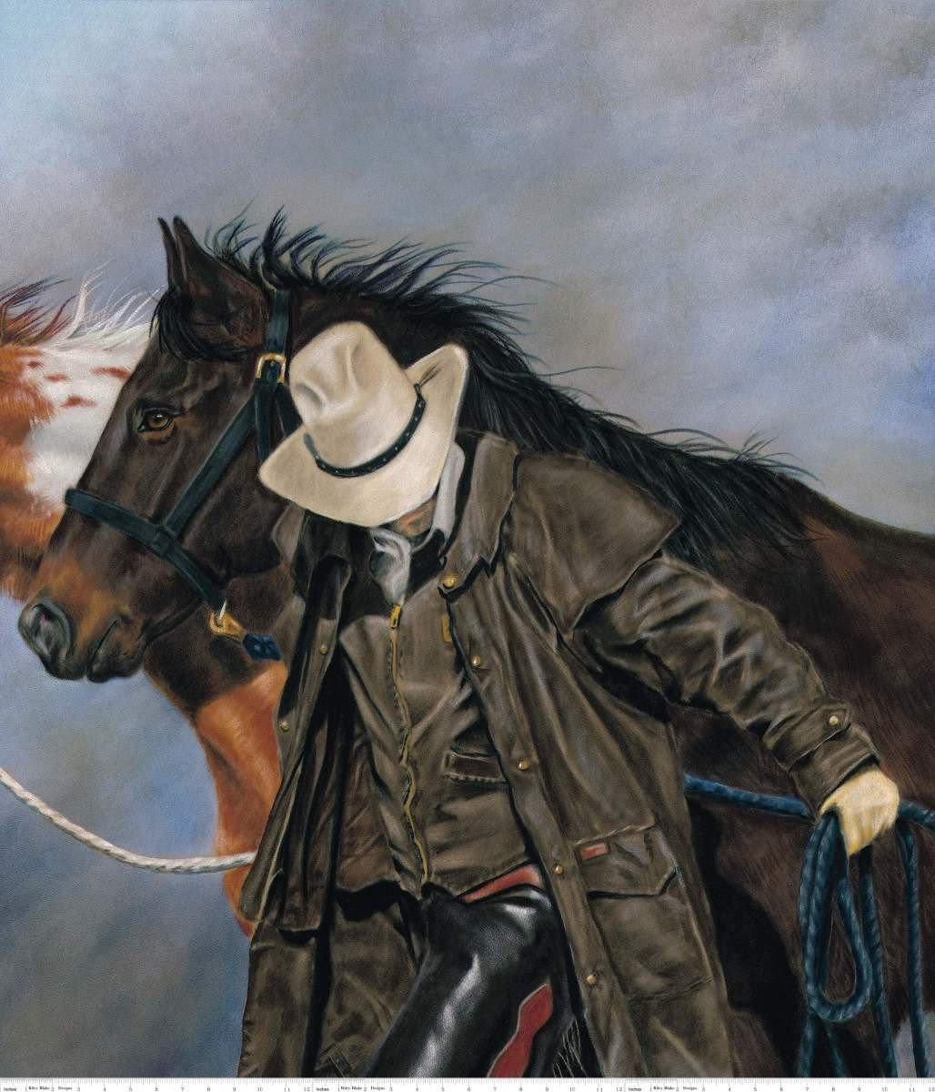 Horse Lead P7762 Panel