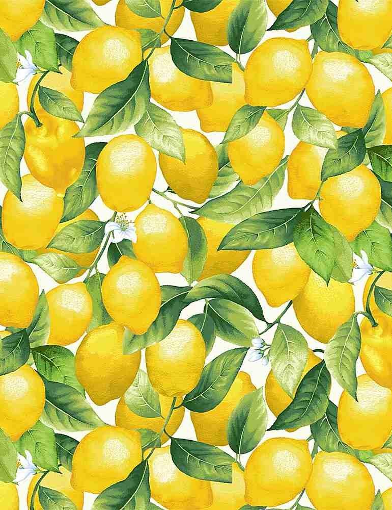 Packed Lemons C8016 White