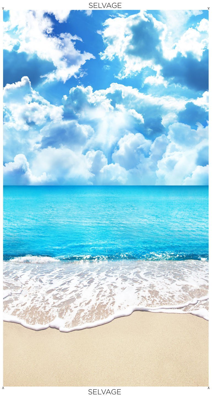 Beach Day C8458 Sunny Sandy Panel