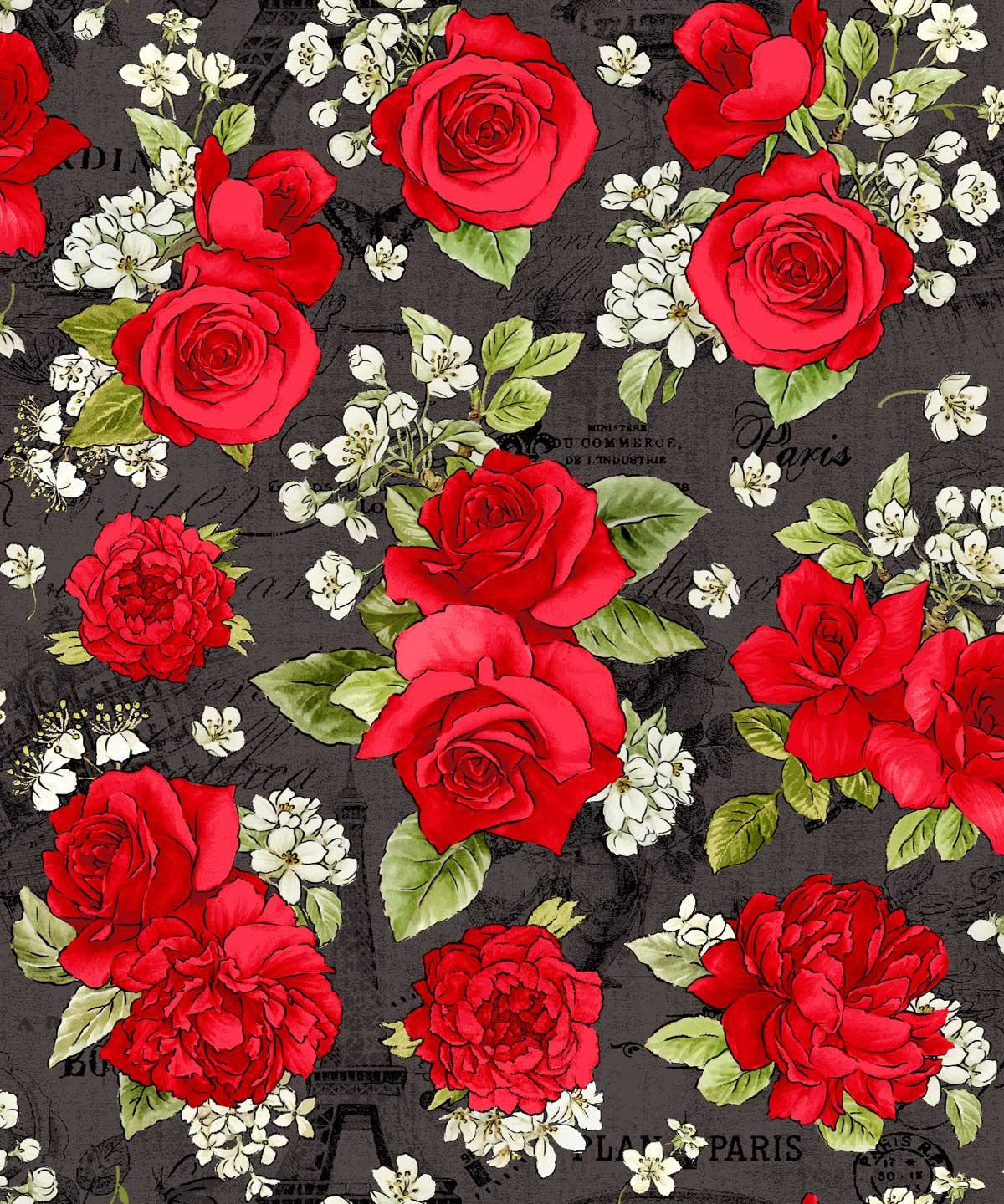 French Rose 21803 Black