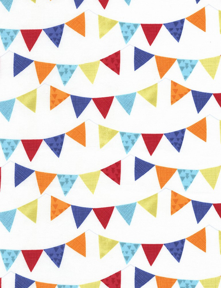 Party Pennants C5118 Ivory