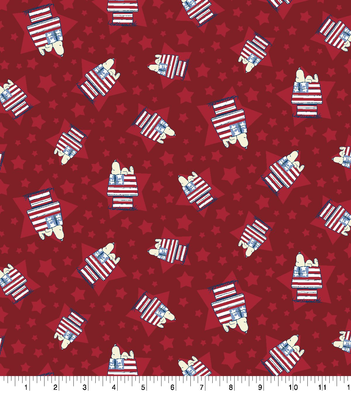 Patriotic Snoopy 71046 House Toss