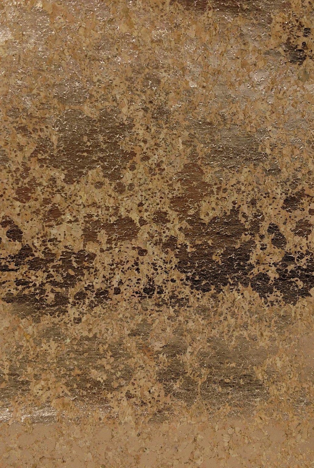 *EOB* Cork Fabric Copper Metallic B54C-90-810 - 0.85 YD