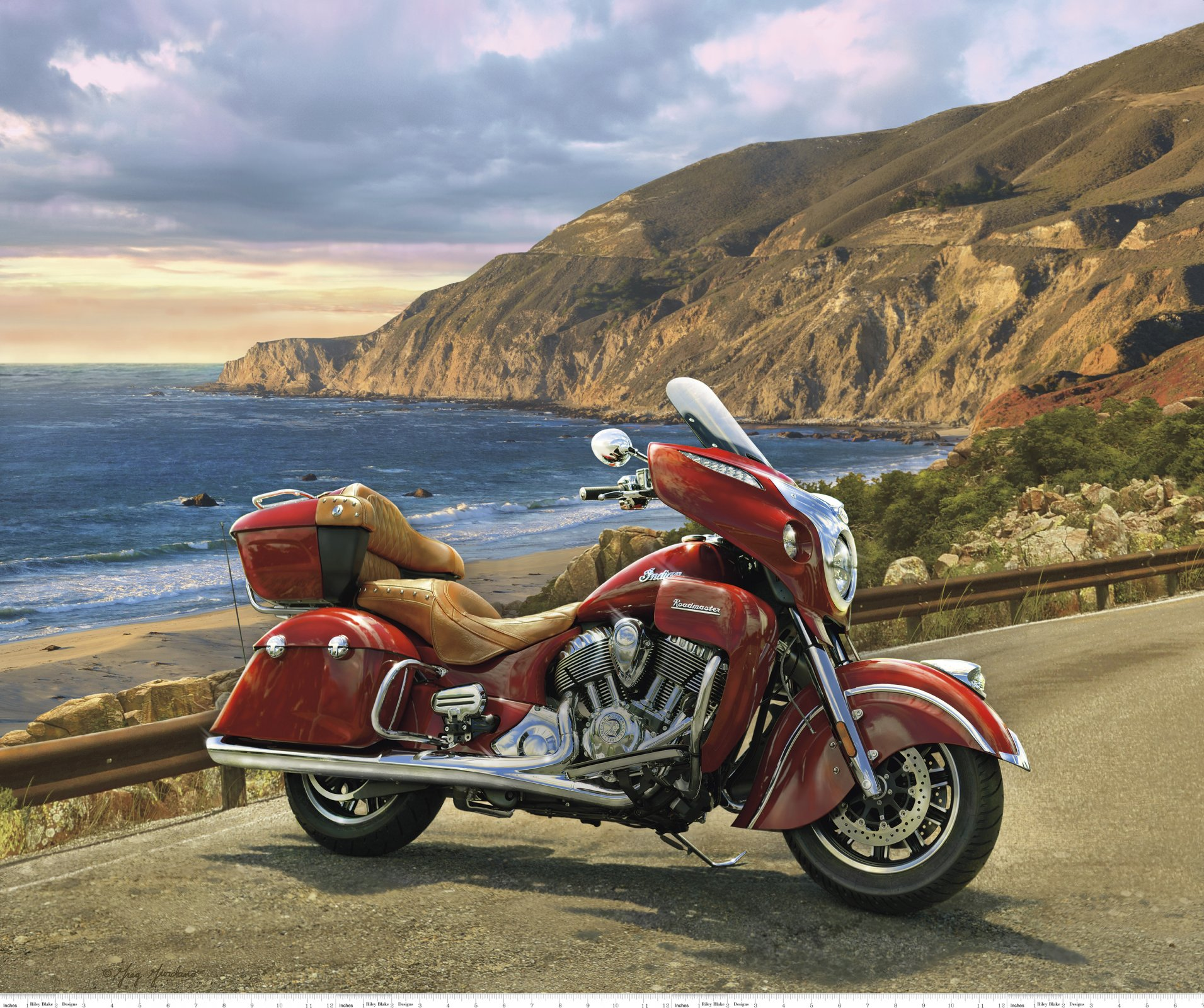 Indian Motorcycle PD-7387 Roadmaster Panel