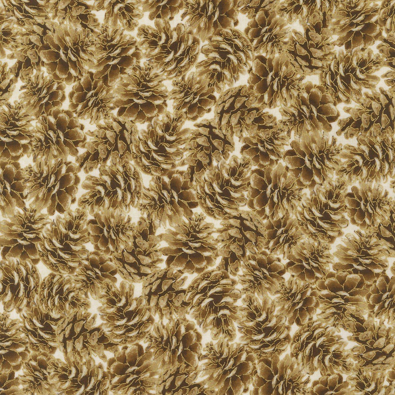 Pinecones Metallic CM7697