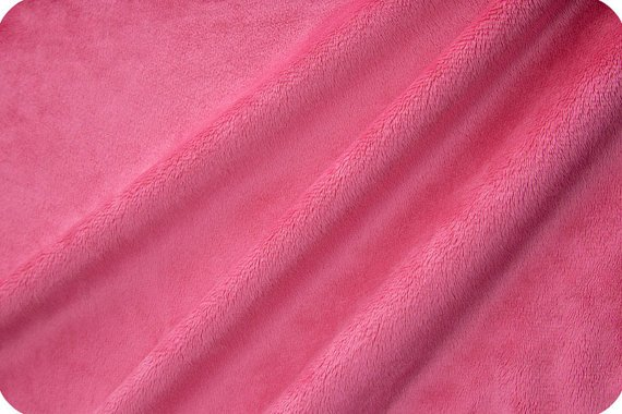Minky Softee Fleece Solid Pink #5903