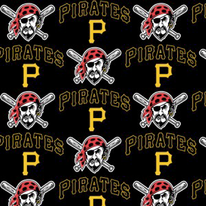 MLB Pittsburgh Pirates 6650B Black
