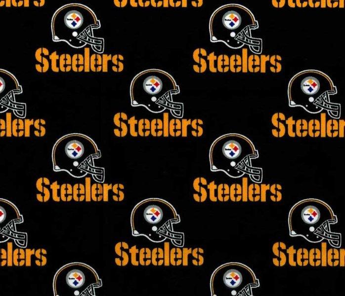 NFL Logo Pittsburgh Steelers A522 Black