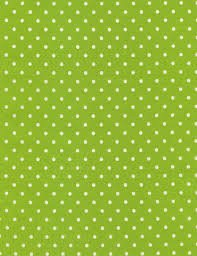 END OF BOLT You are my Sunshine Polka Dots C1820 Lime - .75 YD