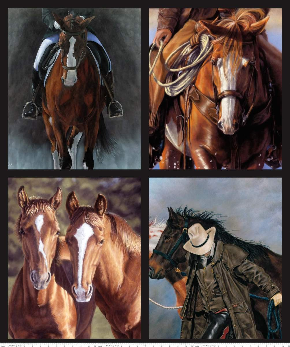 Horse PP7764 Pillow Panel