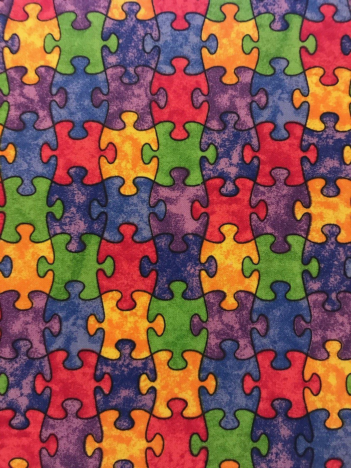 Puzzle Pieces 14342 Multi