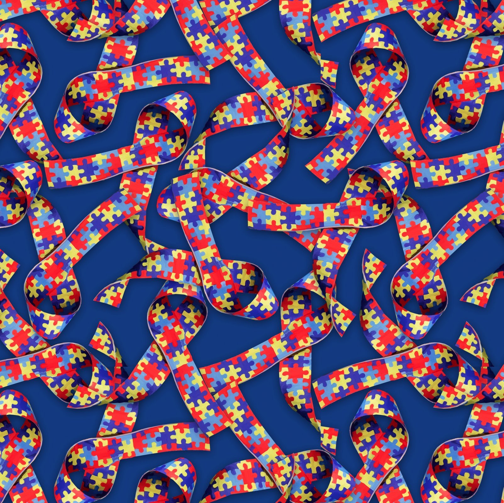 Puzzle 2548-2 Ribbons Blue