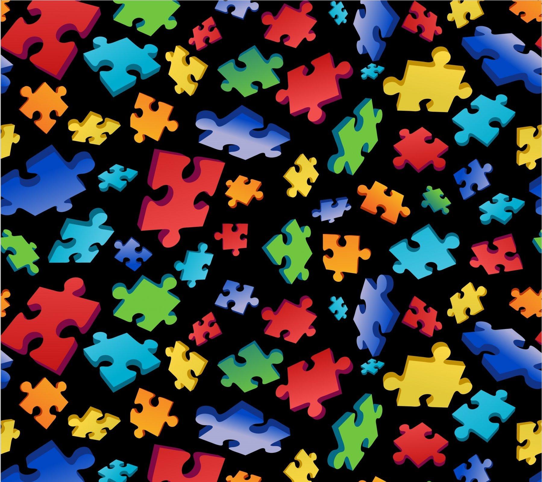 Puzzle 2551-2 Piece Toss Black