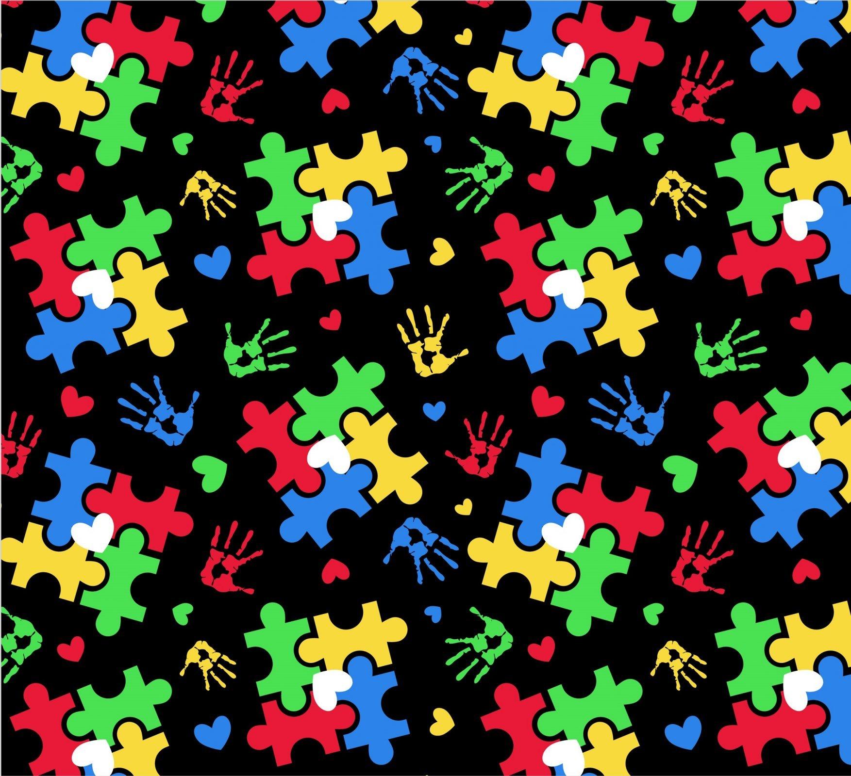Puzzle 2581 Hand Prints Black