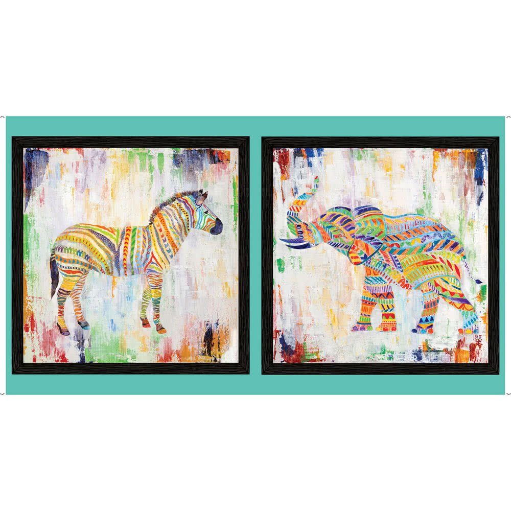 Elephant Zebra Artworks 27313X Panel