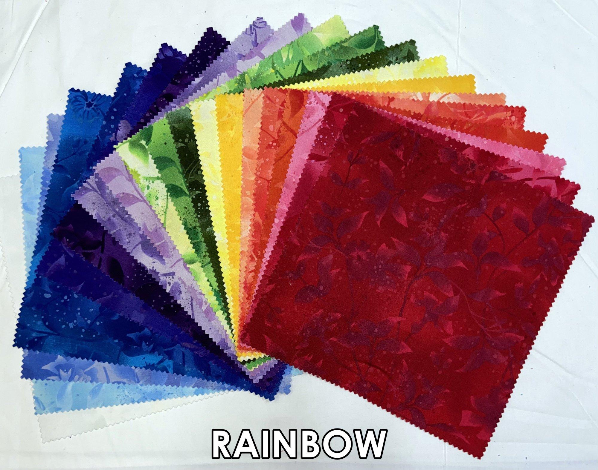 Boundless Rainbow 42 Piece 10 Layer Cake