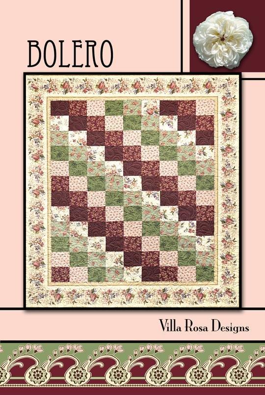Bolero Quilt Pattern #3782
