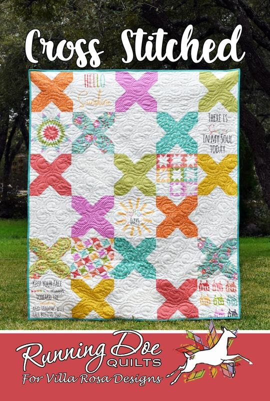 Cross Stitched Quilt Pattern #401