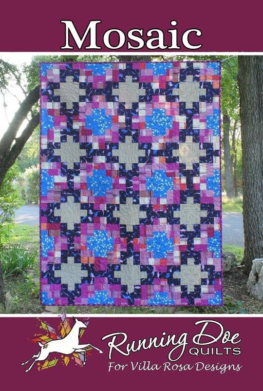 Mosaic Quilt Pattern #3782