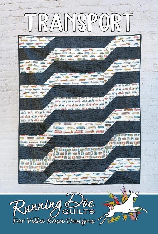 Transport Quilt Pattern #3782