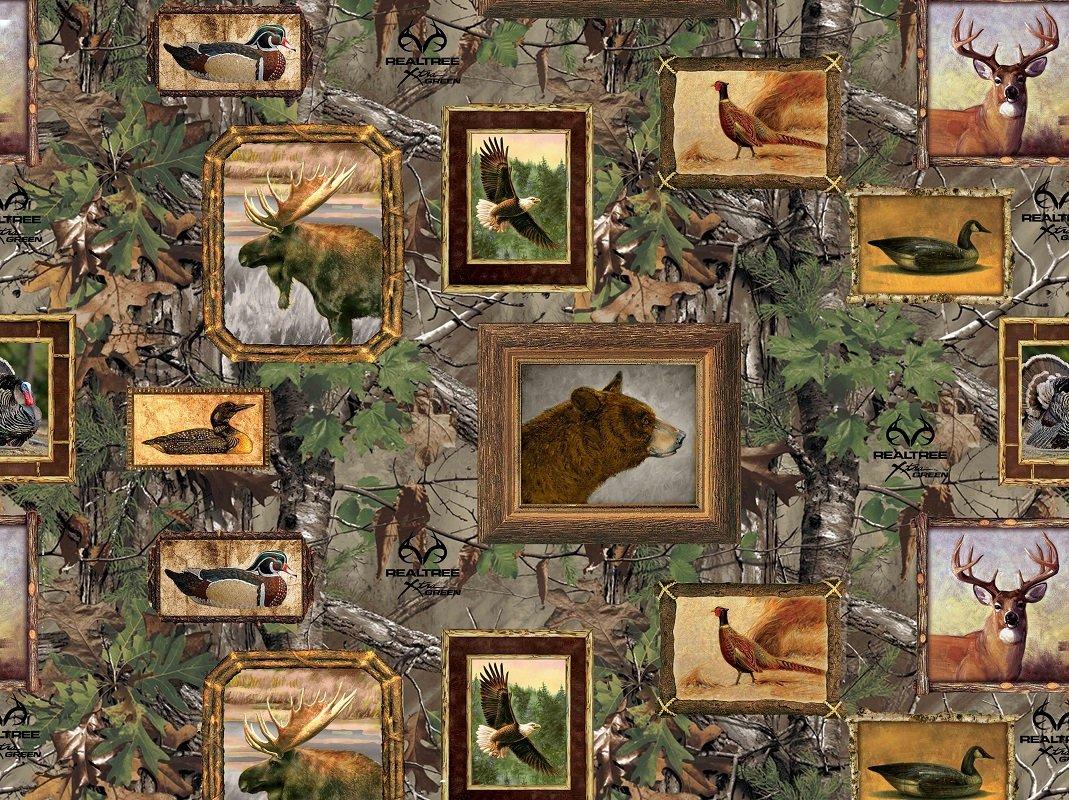 Realtree 10084 Wooden Frames Camo