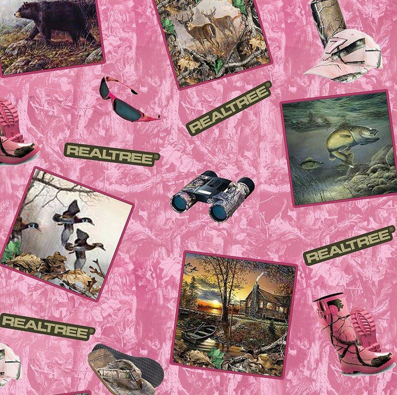 Realtree 9958 Pink Postcards