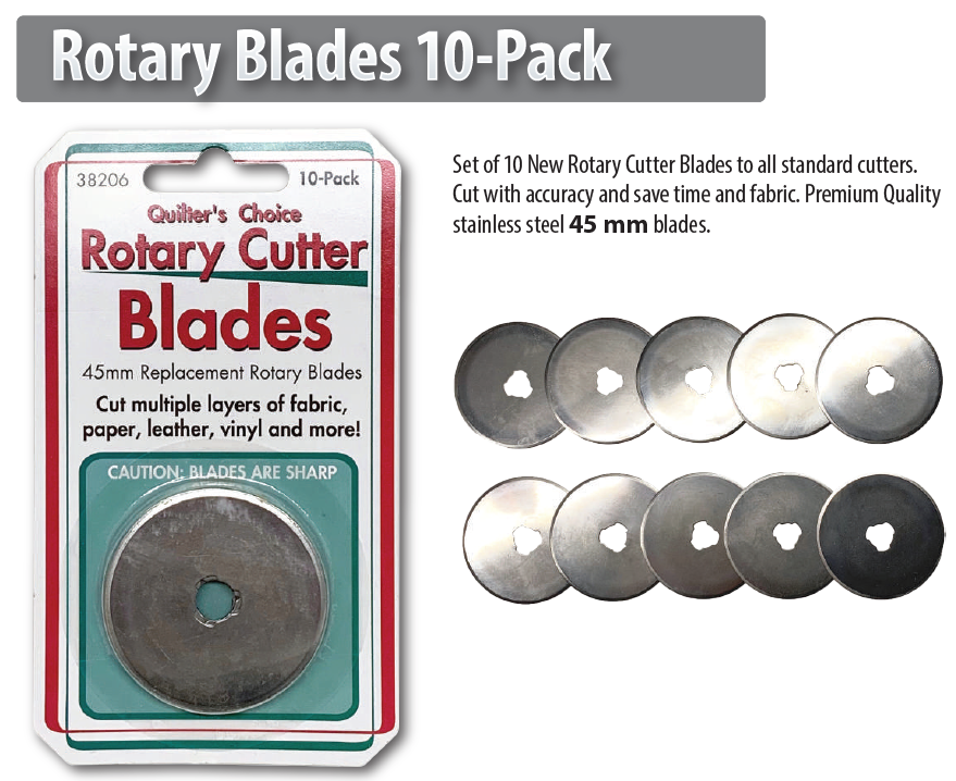 ROTARY BLADES 10 PACK 45mm 38206