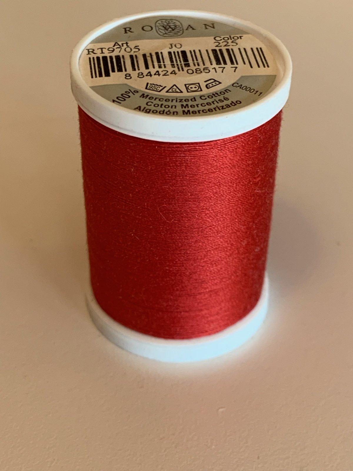 Rowan Thread Red 225