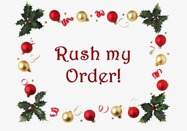 RUSH My Order Please! Add-On