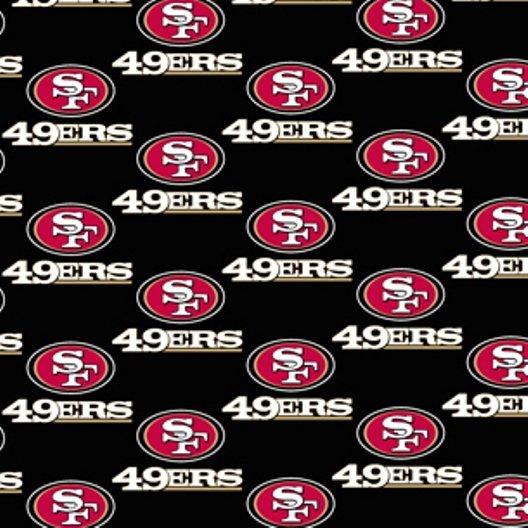 NFL Logo San Francisco 49ers 6337 Black
