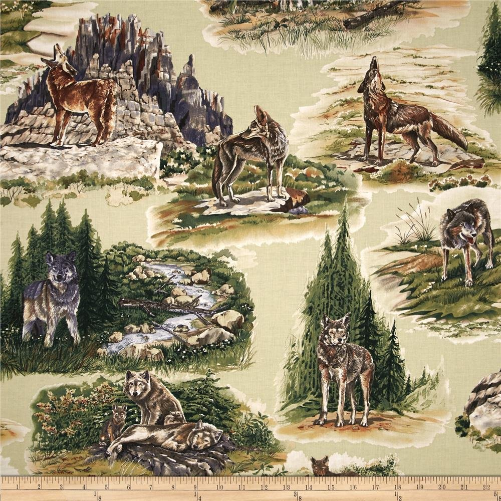 Wolf Song 3732-8755 Scenic Wolves