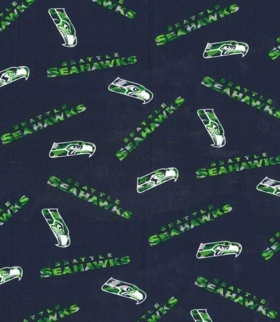 NFL Logo  Seattle Seahawks 70370 Navy Camo 45