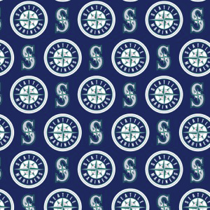 MLB Seattle Mariners 6655B Blue